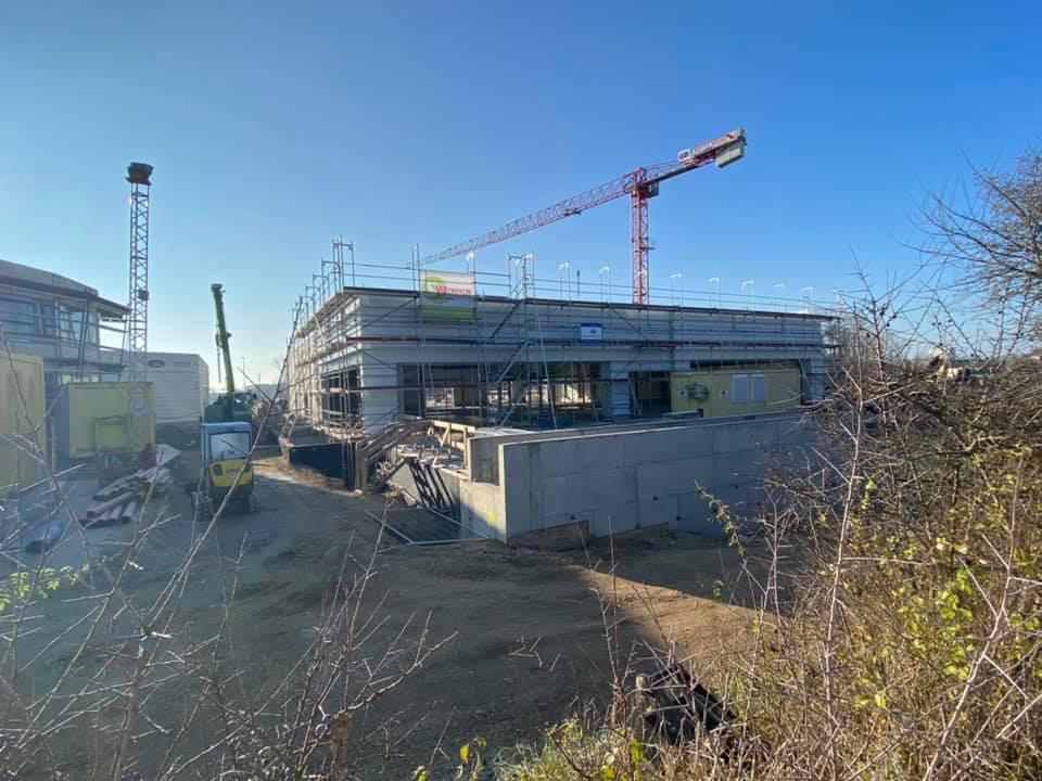 Bau Jaguar Land Rover Autohaus Regensburg