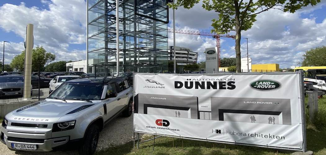 Neues Autohaus in Regensburg