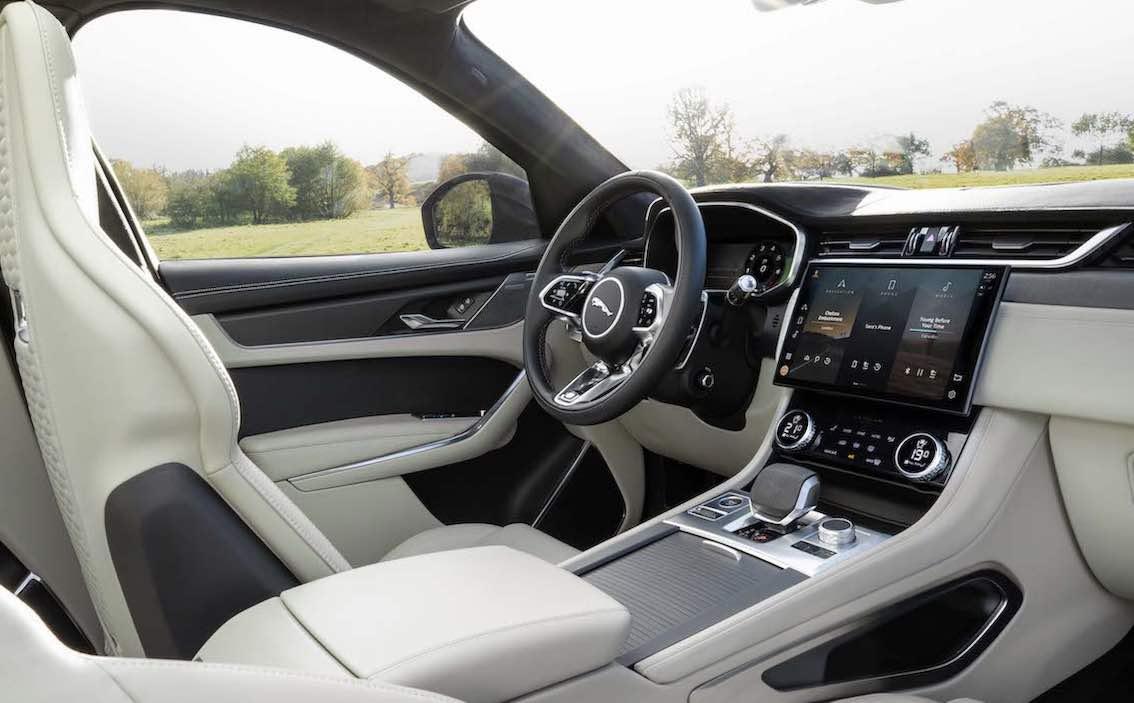 Sitze Jaguar F-Pace SVR 2021
