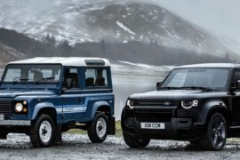 Land Rover Defender V8 Carpathian Edition Vergleich