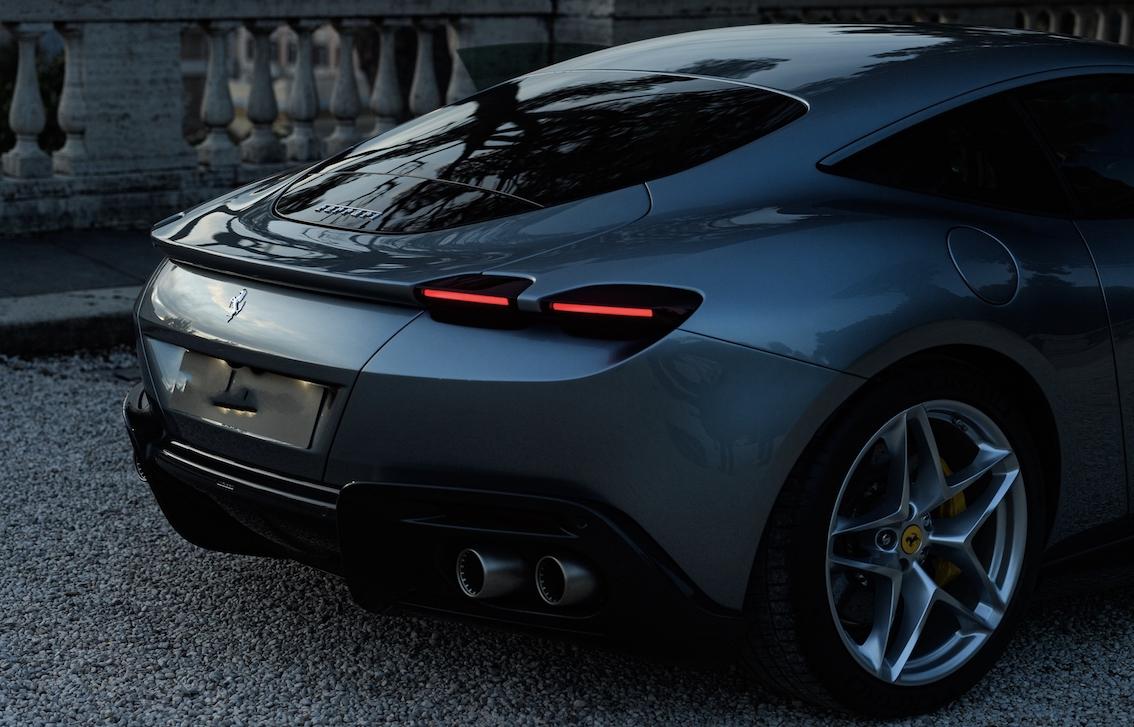 Ferrari Roma Heck Grau
