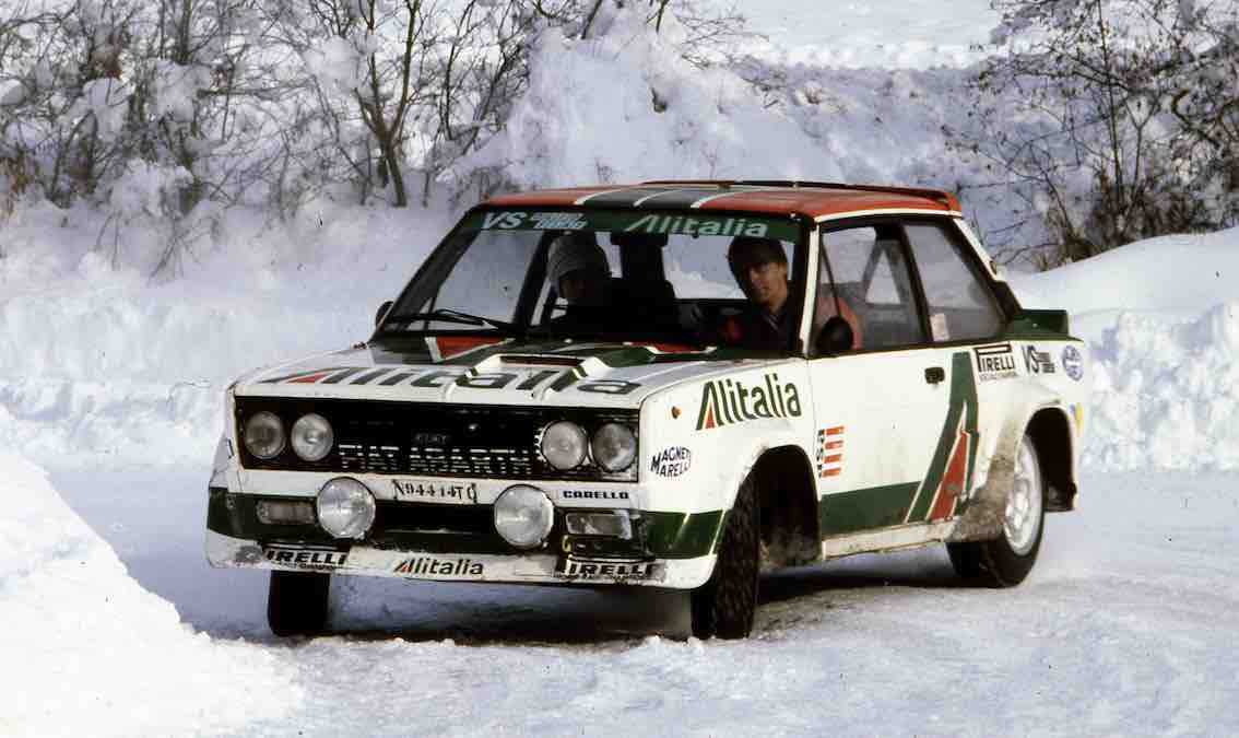 Fiat 131 Abarth Ralley