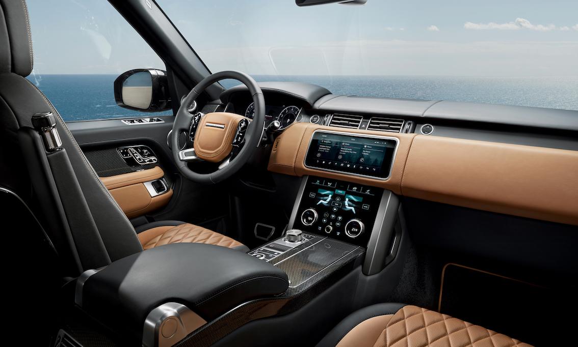 Range Rover Ultimate 2021 Fahrerbereich
