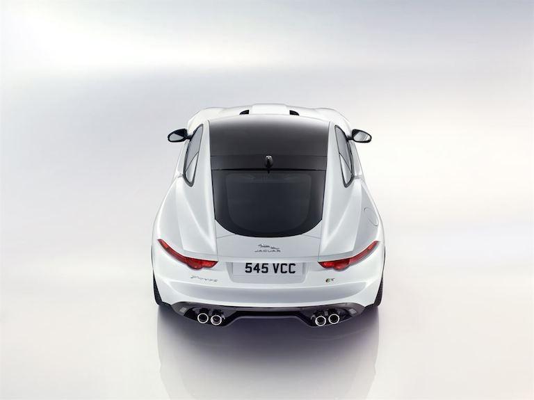 Jaguar F Type Coupe hinten