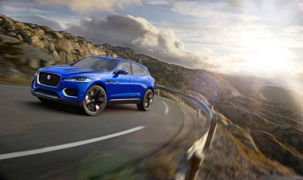 Jaguar CX 17 vorne
