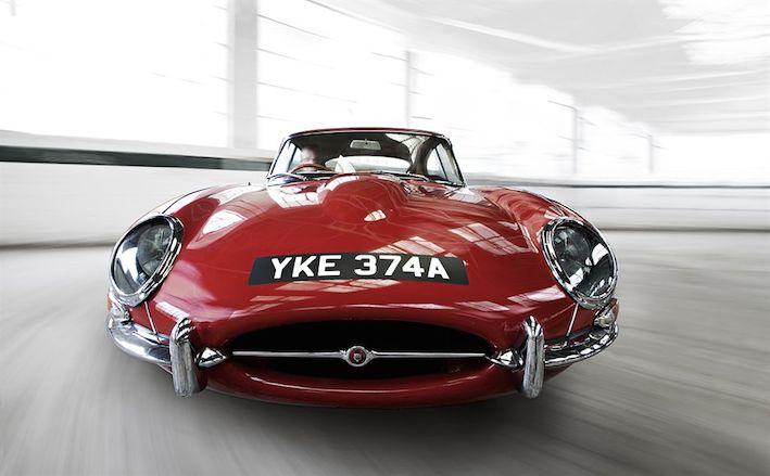 Jaguar E type Coupe