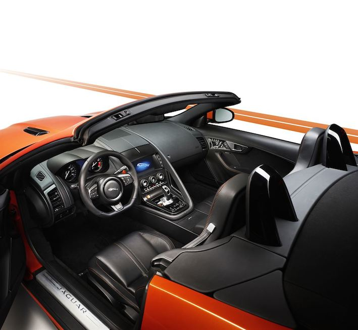 Jaguar F Type Cabrio Innenausstattung