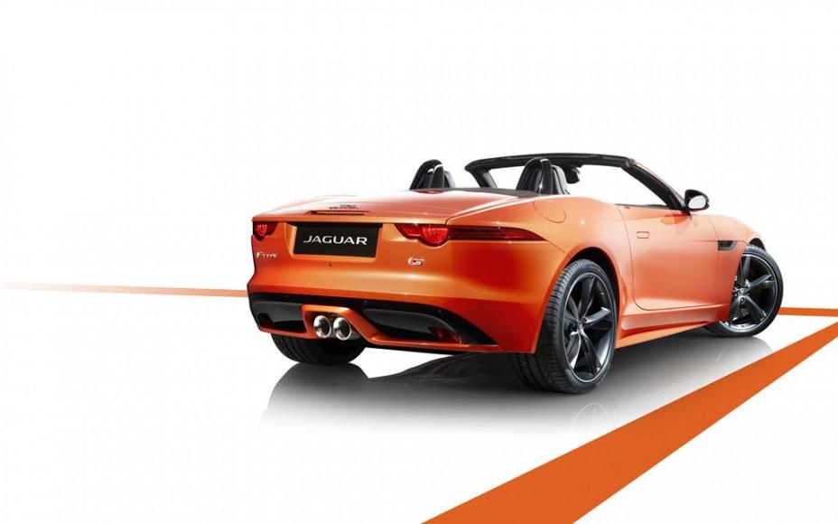Jaguar F Type Cabrio hinten