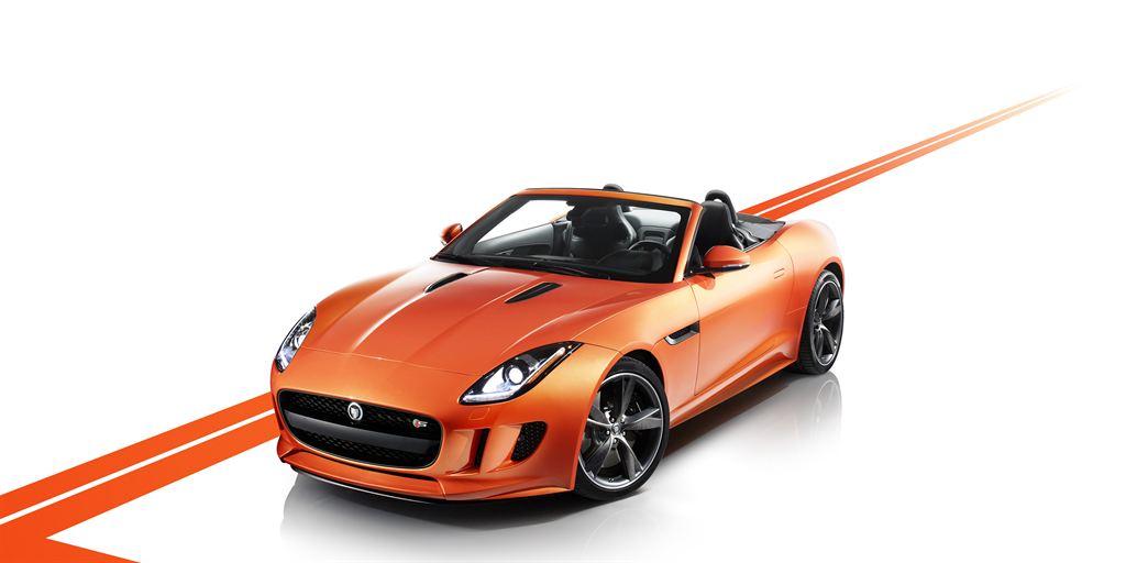 Jaguar F Type Cabrio vorne