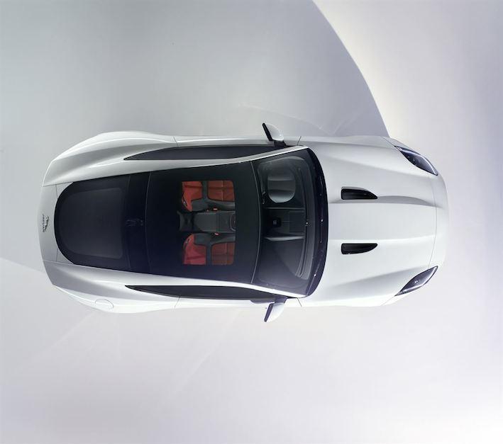 Jaguar F Type Coupe oben
