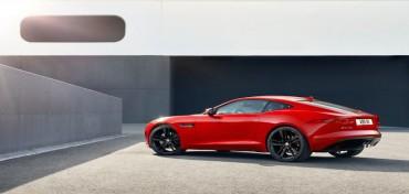 Jaguar F Type Coupe rot
