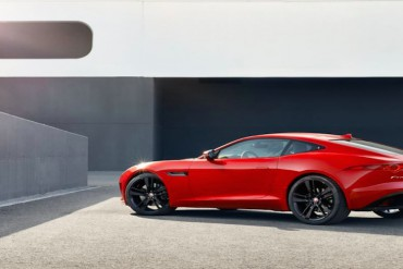 Jaguar F Type Coupe rot