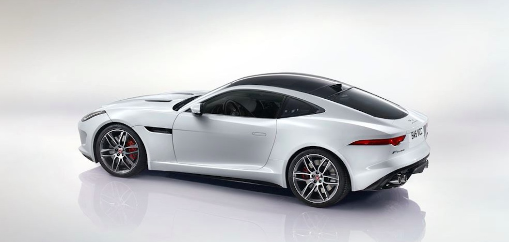 Jaguar F Type Coupe weiss