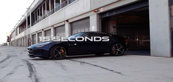 Jaguar F Type R Coupe Sound Video