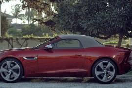 Jaguar F Type Rot Video