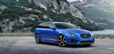 Jaguar XF blau