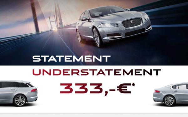 Jaguar XF leasen billig