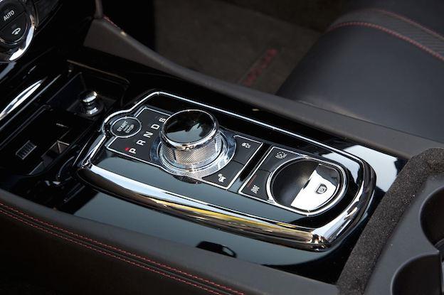 Jaguar XK Cabrio Schaltung