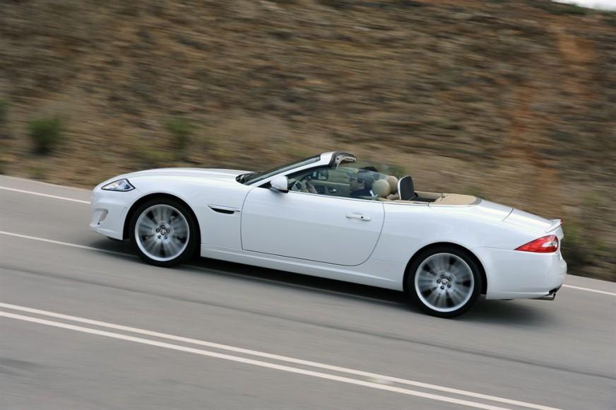 Jaguar XK Cabrio weiss