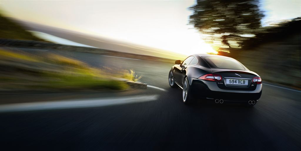 Jaguar XK Coupe hinten