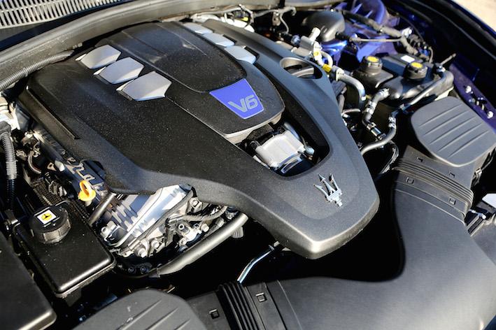 Maserati Ghibli Motor