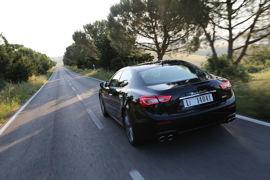 Maserati Ghibli hinten