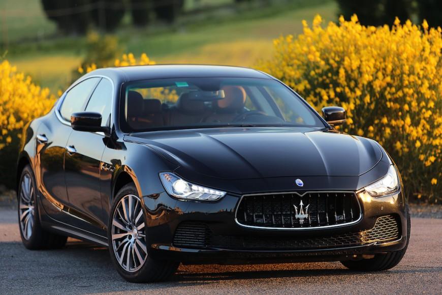 Maserati Ghibli schwarz
