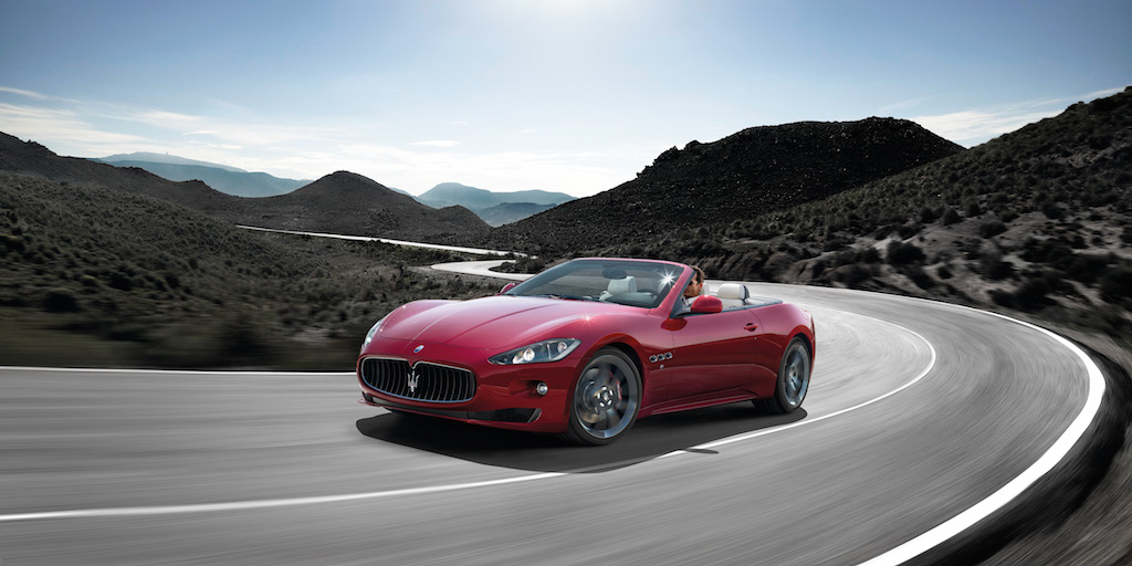 Maserati GranCabrio Sport Kurve