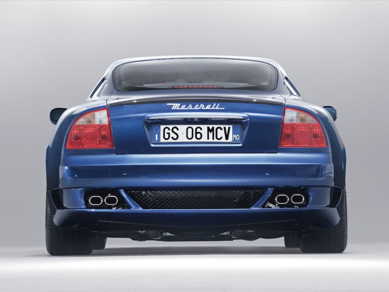 Maserati GranSport Seite hinten