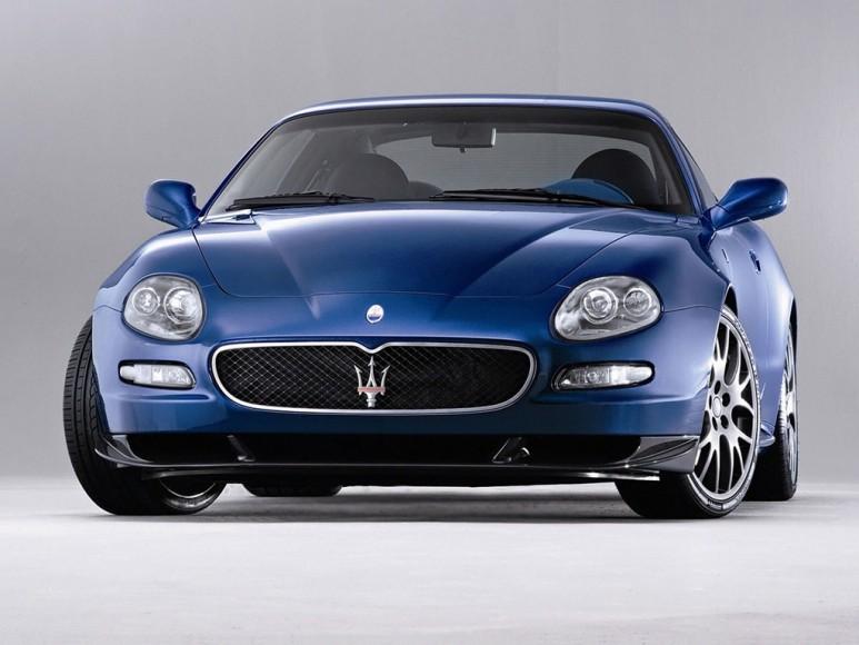 Maserati GranSport blau Vorne