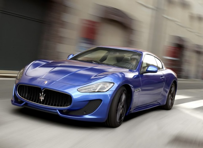 Maserati GranTurismo Sport blau