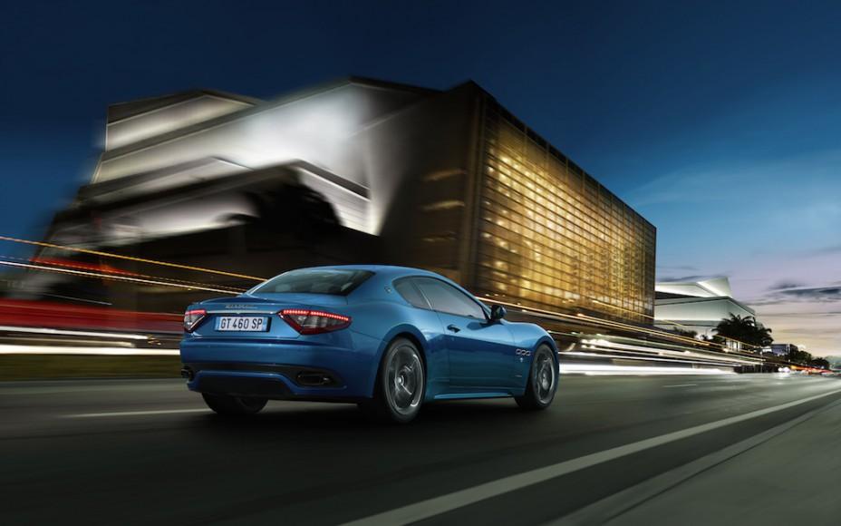 Maserati GranTurismo Sport hinten