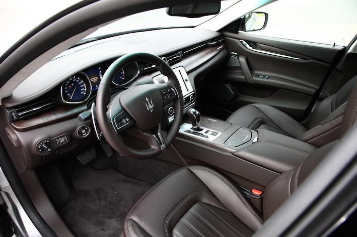 Maserati Quattroporte Diesel Innenausstattung
