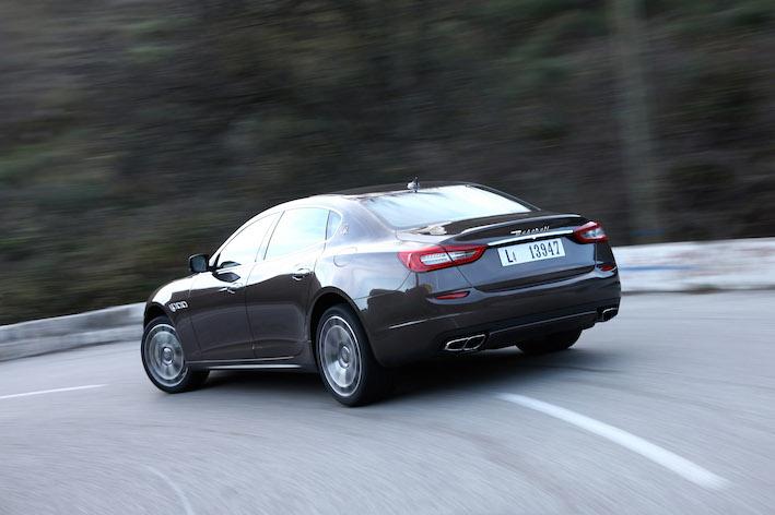 Maserati Quattroporte Diesel hinten