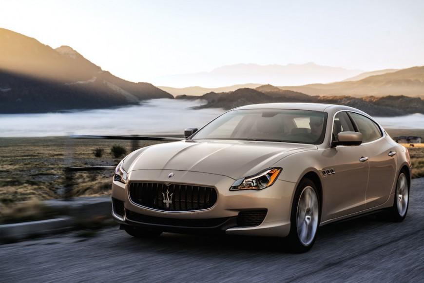 Maserati Quattroporte Gold Seite