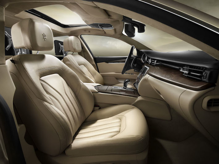 Maserati Quattroporte Innen Leder
