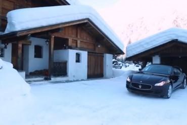 Maserati Quattroporte Winter Video