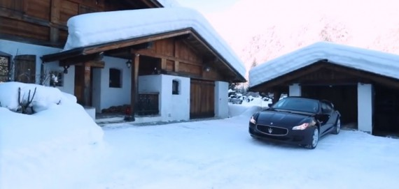 Maserati Quattroporte Winter Video