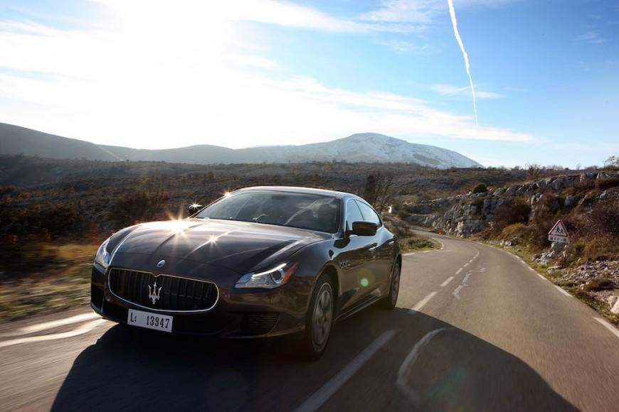 Maserati Quattroporte schwarz
